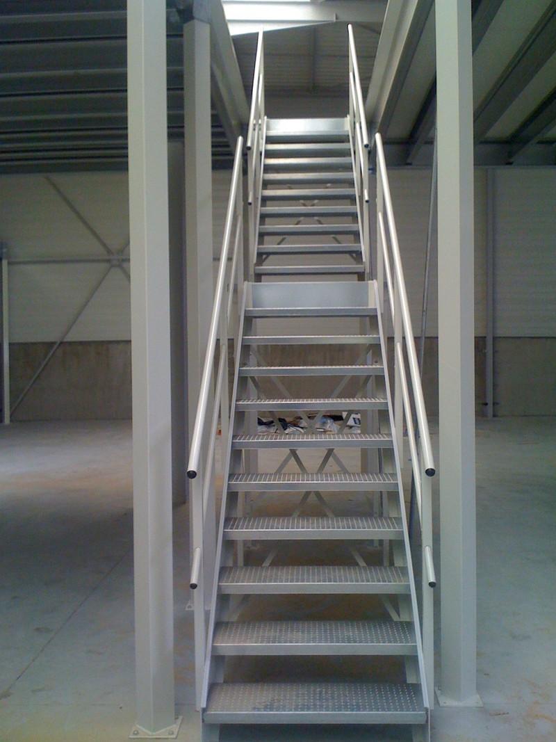 Escalier palier for Escalier avec palier