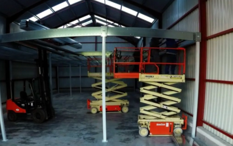 How to install a mezzanine floor